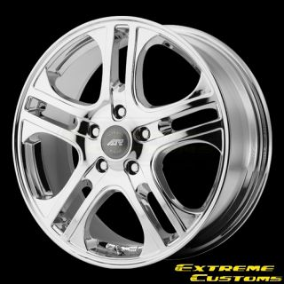 x6 American Racing AR887 AXL Chrome 5 Lug Wheels Rims Free Lugs