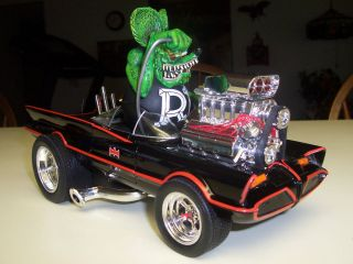 18 Custom 1966 Batmobile Hot Rod Rat Rod Rat Fink
