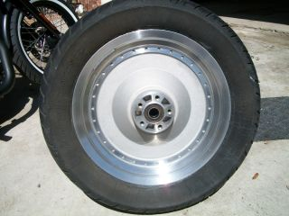 Harley Davidson Sportster XL 16x3 Rear Wheel Rim and Tire