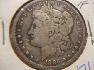 1896 s Morgan Silver Dollar Key Date