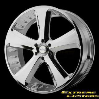 American Racing VN870 Circut Chrome 5 6 Lug FREE LUGS Wheels Rims