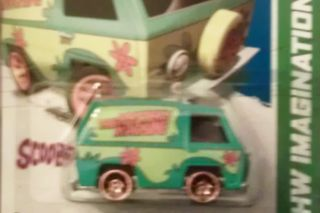 HOT WHEELS 2012 SCOOBY DOO THE MYSTERY MACHINE 38 247 HW IMAGINATION
