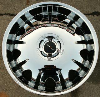 Driv King D235 20 Chrome Rims Wheels Jaguar s Type 00 08 20 x 8 5 5H