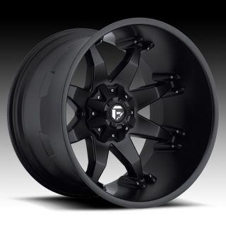 20 Fuel Offroad Octane Wheel Set XD Black 20x12 Rims