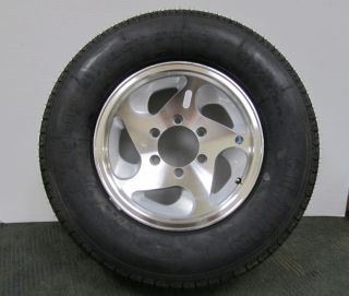 15 inch Radial Tires Aluminum Wheels Horse Trailer RV Camper Boat