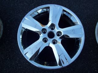 Chevrolet Malibu Wheel Rim 2010 2011 2012 Factory Chrome Clad 17 5436