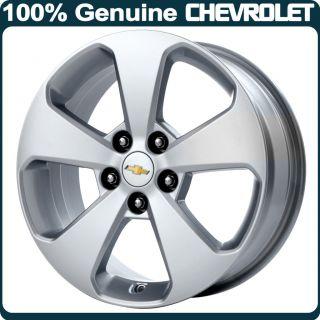 Genuine Chevrolet Cruze 17 Alloy Wheel 5 Spoke Design Diesel Silver