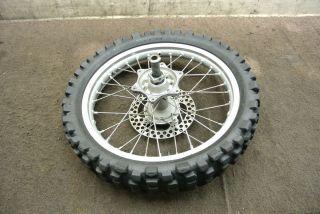 2003 03 Honda CRF450 CRF 450 CRF450R 450R Rear Wheel Rim Tire Rotor