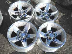 Chevrolet S10 16 Polished Extreme Alloy Wheel Rims