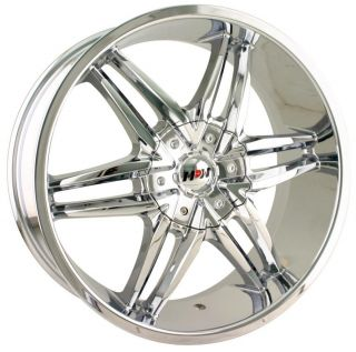 20 inch MPW MP208 Chrome Wheels Rims 6x5 5 K 2500 Silverado Suburban