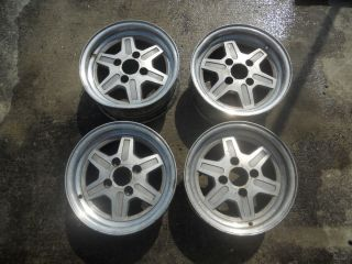 Set of Factory Nissan 280z 280ZX Wheels Rims FZ3 4 Lug 14 14x6 10 JJ