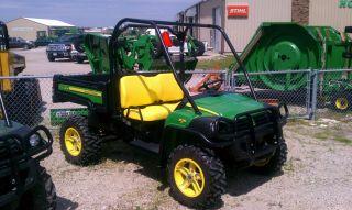 2011 John Deere 825 XUV Gator Power Bedlift Mag Wheels 104954