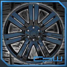 24 inch Cadillac Escalade Wheels Rims Tires Package Gloss Black 6 Lug