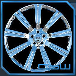 Land Rover 24 inch Chrome Wheels Rims Range Rover Sport LR3 LR4