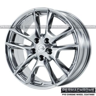 Nissan Maxima Chrome Wheels Rims 62511 Exchange Permachrome