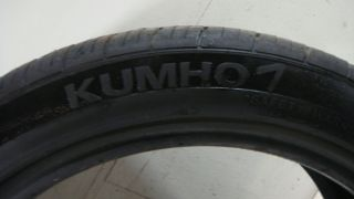 One Used Tire Kumho Ecsta 4X 215 45 17 Tread Life 5 5 32 60 Tires 13