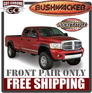 50017 02 Bushwacker Front Pocket Style Fender Flares Dodge Ram 2002