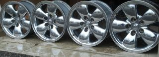 1500 TRUCK OEM STOCK 20 WHEELS RIMS AND CENTER CAPS POLISHED ALUMIN