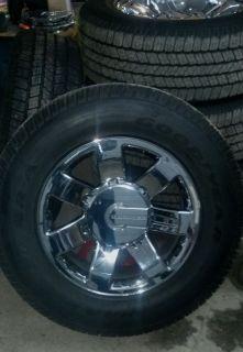 20 Chrome Hummer H2 Wheels Tires
