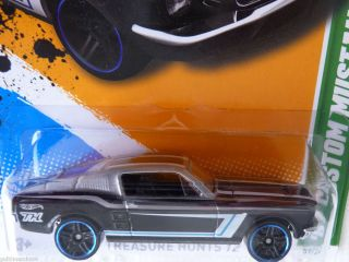 Hot Wheels 67 Custom Mustang 2012 Treasure Hunt 07 15 Card 057 247
