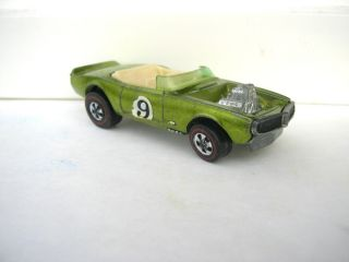 Vintage Diecast Hot Wheels Redline Car Light My Firebird Antifreeze