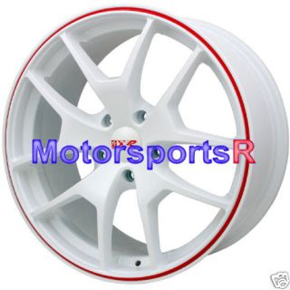 18 XXR 518 White Wheels Rims 07 08 09 Lexus ES350 ES330