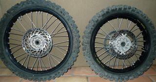 2005 Honda CRF450 X CRF450X CRF 450X 250X Black EXCEL Wheel Set Front