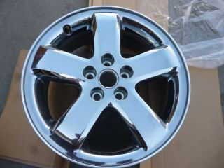GM Chevy Pointiac 17 Rim Chrome 5 Lug 9594790 17X7J