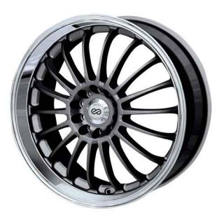 18 Enkei FN18 Gunmetal Rims Wheels RX8 G35 350Z Accord