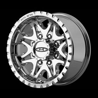 18 x9 Moto Metal 950 MO950 Chrome Wheels Rims 5 6 8 Lug