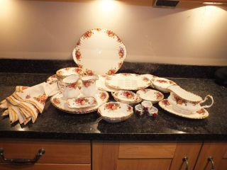 Royal Albert Old Country Roses Tableware Various Items