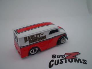 Custom Harley Davidson Dairy Delivery