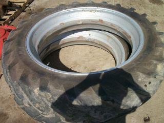 1950 Case SC Tractor Rear Tires Rims
