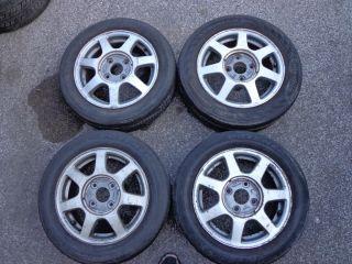 1995 Honda Accord EX Alloy Wheels Rims Tires Set