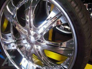24 Wheels Rims Tire Escalade Tahoe Yukon Denali Suburban