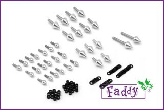 Spike Fairing Bolt Kit for Suzuki Hayabusa GSXR1300 1999 2007