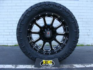 20 XD Bomb XD806 Black 295 65R20 295 65 20 Nitto Trail Grappler MT 35