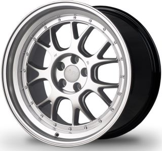 18 MIRO 368 Wheels Set VW Golf GTI MK5 6 EOS Passat Rims With Step Lip