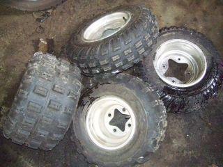 Honda TRX400EX 400EX EX Front Rear Back Wheels Rims Tires Set 4