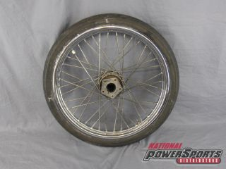 Harley Front Wheel Rim and Tire T21 x 2 15 D402F Tire
