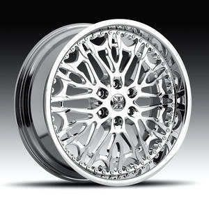 22x9 5 Skizom 6x135 Chrome One Single 30 Replacement Wheel Rim