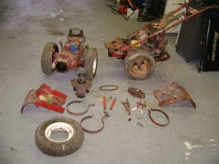 Vintage Gravely 2 wheel Farm Garden Tractor parts L super Convertible