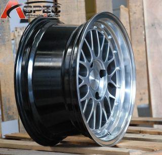 16x8 Varrstoen V4 4x114 3 15 Silver Wheel Fit Nissan 240Z 280z 240sx