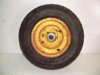 82 John Deere 317 Lawn Garden Tractor Front Rim Wheel 16x6 50 8 Tire