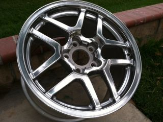Z16 GM Factory Original C5 Z06 Polished Wheel Rims 18x10 5