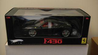 Mattel Hot Wheels Elite Ferrari F430   METALLIC BLACK   UNOPENED   1
