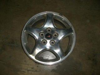 GRAND PRIX Wheel Rim 16x6 1 2 alum 5 straight spokes polished 6529 434