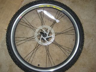 26 Swift Arriv Bicycle Bike Wheel Rim w Tire and Disc Brake Rotor