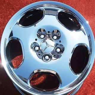 NEW 17 MERCEDES BENZ E430 E300 E320 E420 OEM CHROME WHEELS RIMS 65237
