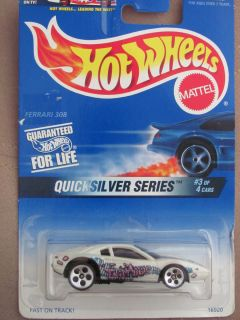 Hot Wheels 1997 Quicksilver Series Ferrari 308